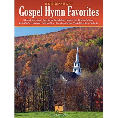 Gospel Hymn Favorites (Beginning Piano Solo Songbook)