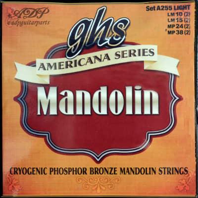 GHS Lignt Phosphor Bronze American series LoopEnd A255 Mandolin Strings