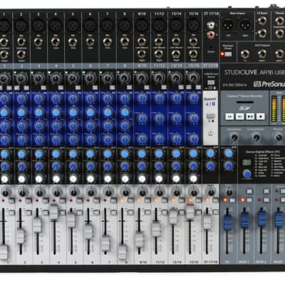 PreSonus StudioLive AR16 Hybrid USB Mixer Interface