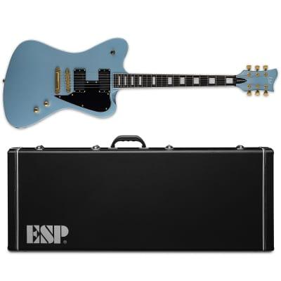 ESP LTD Sparrowhawk Pelham Blue PB Bill Kelliher Electric Guitar + Hardshell Case for sale