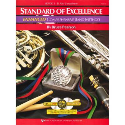 Standard Of Excellence Alto Sax Enhanced Book 1