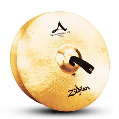 "Zildjian 17"" A Classic Orchestral Selection Medium Cymbals (Pair)"