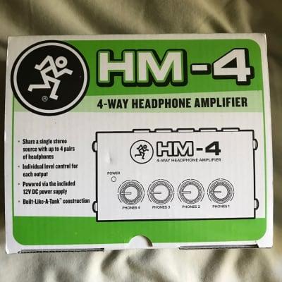 Mackie HM-4 headphone amp