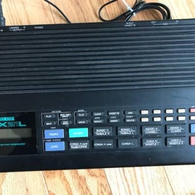 Yamaha RX-21L Digital Rhythm Programmer w/ Adapter