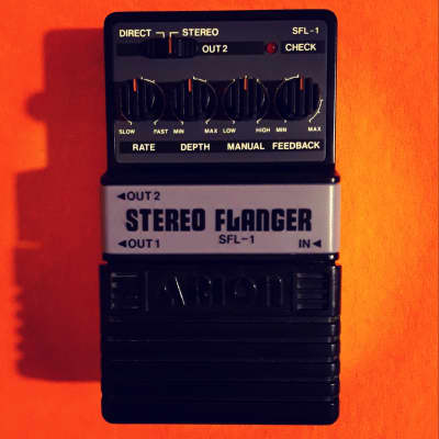 Arion SFL-1 Stereo Flanger made in Japan w/box & manual for sale
