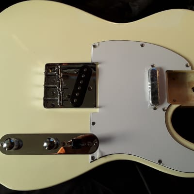 Unbranded Telecaster, Loaded Body Only, 2020, White