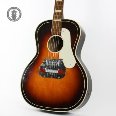 1950s Marvel Slide Guitar Sunburst with Painted Details for sale