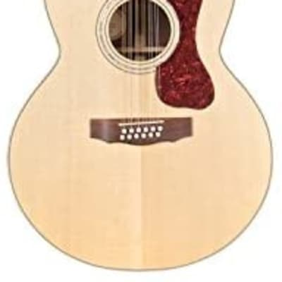 Guild F1512E Jumbo 12-String Solid Acoustic Electric Guitar w/Case - Sample #53