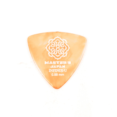 Master 8 INFINIX-U Grip Guitar Picks .88mm Triangle Medium 6-Pack