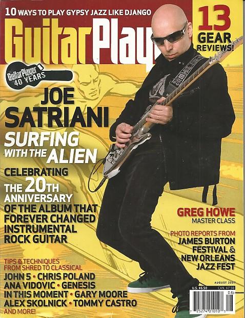 Guitar Player-Magazine, August 2007 | Music Solutions LLC