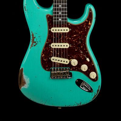 Fender Custom Shop Empire 67 Stratocaster Relic - Sea Foam Green #55091 for sale