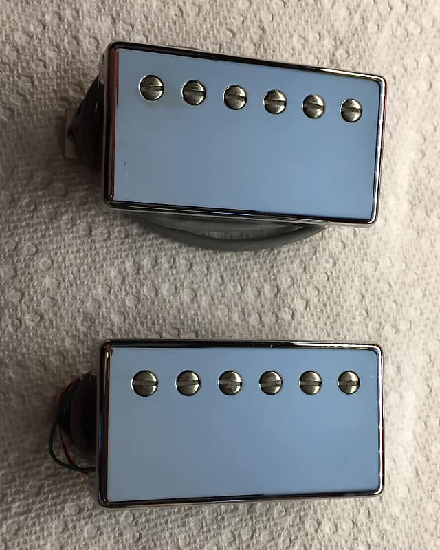 Gibson Burstbucker Pickup Set With Nickel Covers