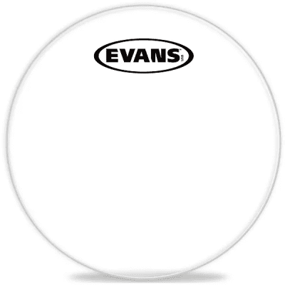 "Evans TT14CC Corps Clear Marching Tenor Drum Head - 14"""