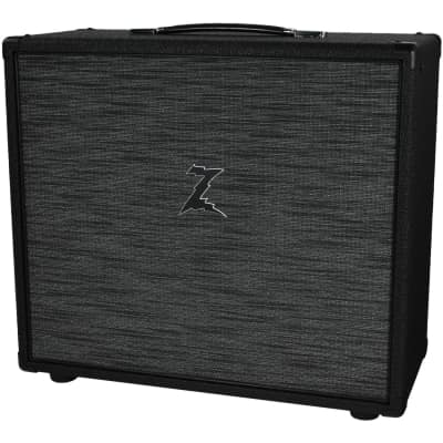 Dr. Z 2x10 Speaker Cab - Black w/ Z-Wreck Grill for sale