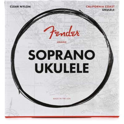 Fender California Coast Soprano Ukulele Strings
