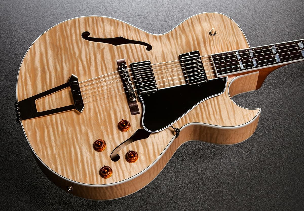 Gibson 2016 Es 175 Figured Natural Natural Reverb