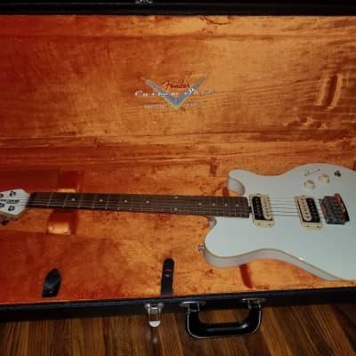 Music Man Music Man Ernie Ball Reflex HH Pearl White Fender Custom Shop Stratocaster Telecaster Case Limited Edition 2014 White for sale