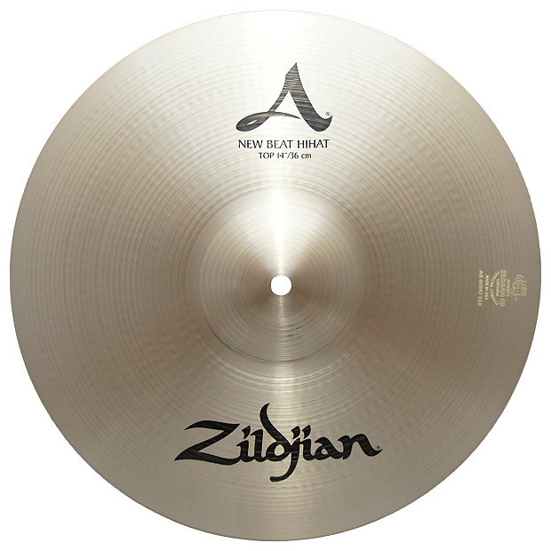 zildjian 14 a series new beat hi hat top cast bronze reverb. Black Bedroom Furniture Sets. Home Design Ideas