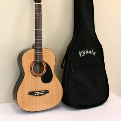 Kohala 3/4 Size Steel String Acoustic Guitar with Bag for sale