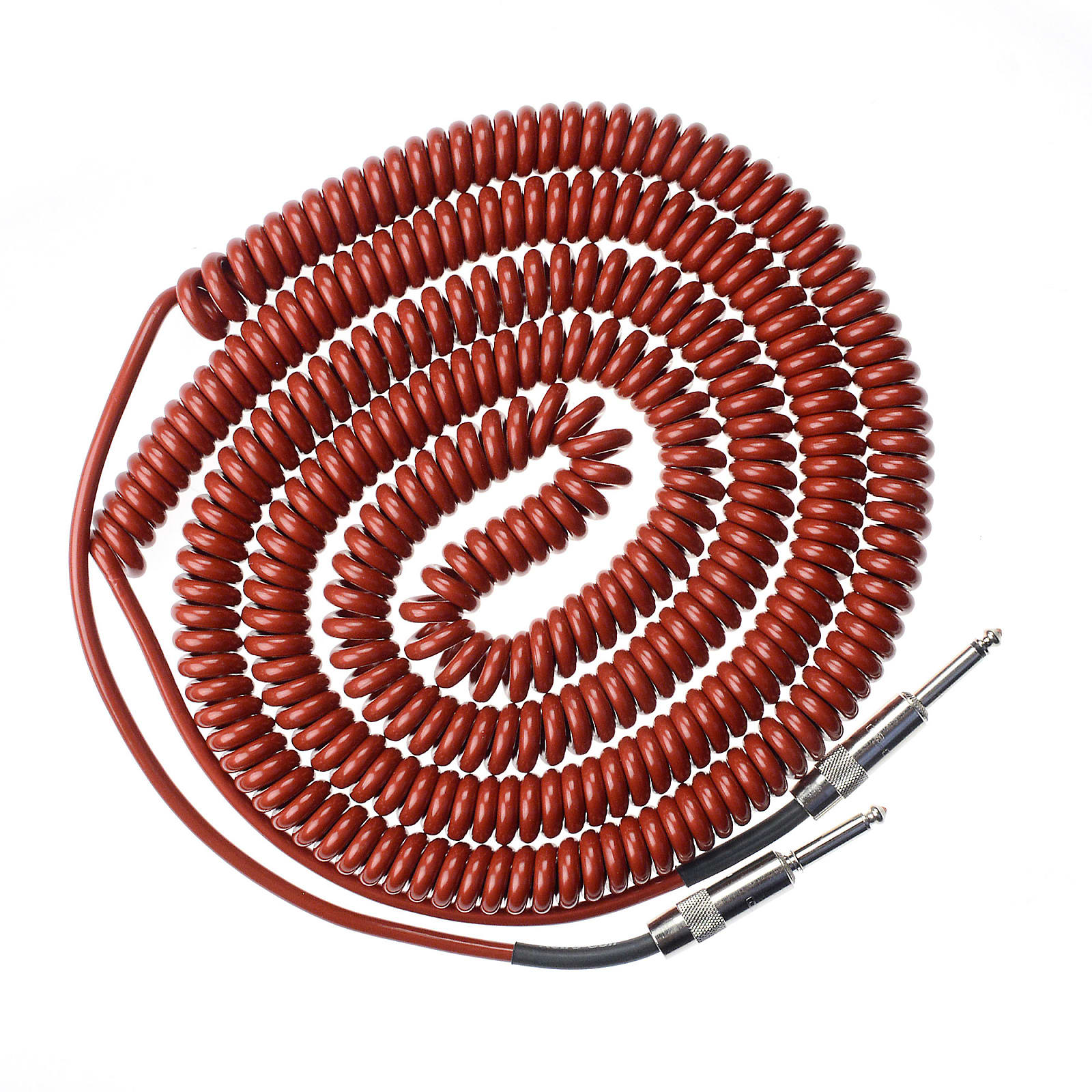 Lava Super Coil Instrument Cable 35' Straight-Straight Metallic Red