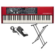 Nord 61 Note Electro 5D 61-Key Stage Action Piano Bundle