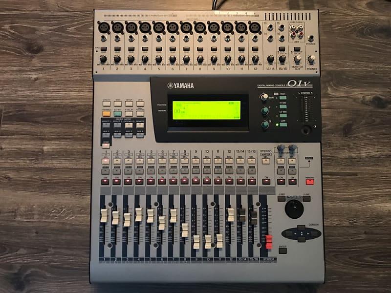 Yamaha 01v Digital Mixer Software : yamaha 01v digital mixer with adat card and gator bag reverb ~ Vivirlamusica.com Haus und Dekorationen