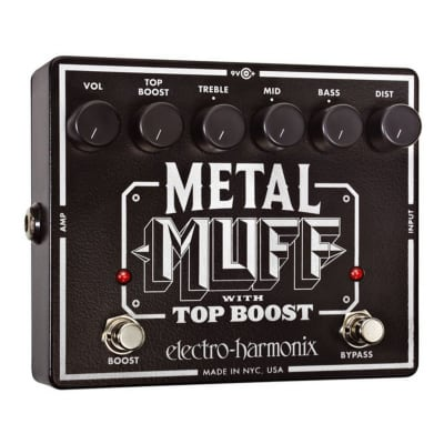 ELECTRO HARMONIX METAL MUFF w/Top Boost for sale