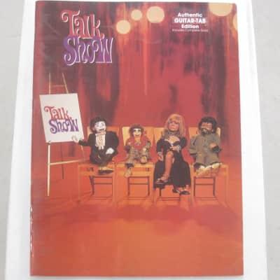 Talk Show (band) Sheet Music Song Book Songbook Guitar Tab Tablature