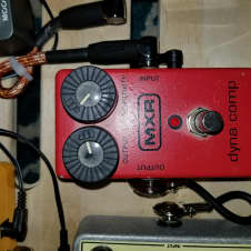 MXR Dyna Comp  Red