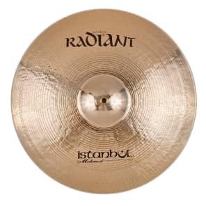 "Istanbul Mehmet 22"" Radiant Rock Ride Cymbal"