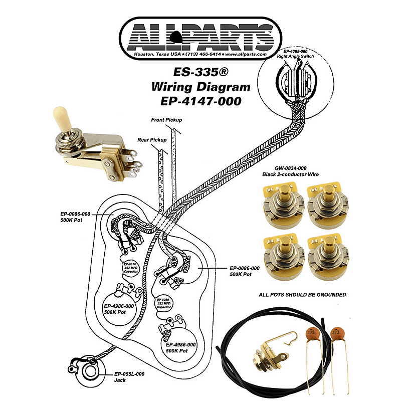 [DIAGRAM_34OR]  WIRING KIT-Gibson® SG Complete with Schematic Diagram Pots, | Reverb | Wiring Diagram For Gibson Sg |  | Reverb