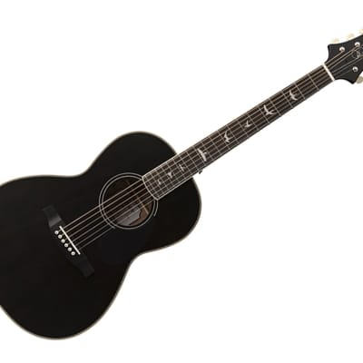 Paul Reed Smith SE Tonare Parlor Hollow Body Acoustic-Electric Guitar Ebony/Charcoal