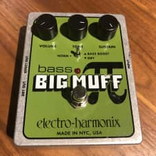 Electro-Harmonix Bass Big Muff Pi silver