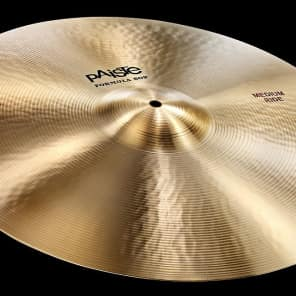 "Paiste 20"" Formula 602 Classic Medium Ride Cymbal Traditional"