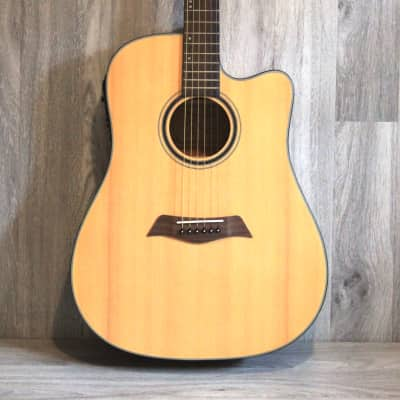 Solid Top Spruce Acoustic Electric Guitar 41 inch iMusic234 for sale