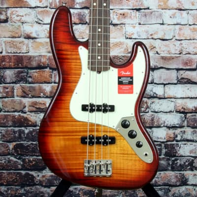 Store Demo | Fender 2017 Limited American Professional Jazz Bass FMT for sale