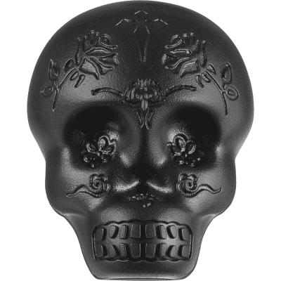 Latin Percussion LP006-BK Black Sugar Skull Shaker (Egg Shaker)