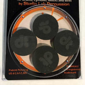 Studio Lab Percussion Drumtacs Tonal Control Pads (4-pack)