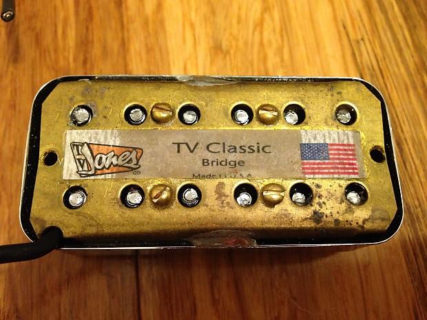 tv jones classic. description; shop policies. tv jones classic bridge pickup in nickel. tv m