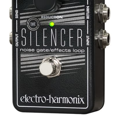 Electro Harmonix Silencer Noise Gate / Effects Loop Guitar Pedal for sale