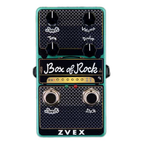 ZVEX Effects Vertical Box Of Rock Distortion FREE U.S. EXPRESS SHIPPING