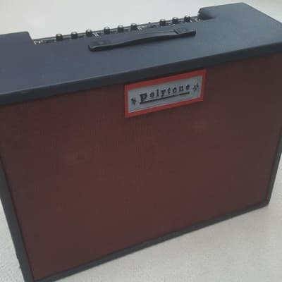 70s Vintage Polytone Model 104 Electric Guitar Combo Amp 2x12 110W Benson Jazz for sale