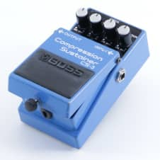 Boss CS-3 Compression Sustainer Guitar Effects Pedal P-05315