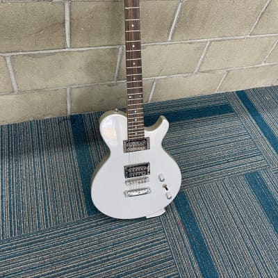Dean PlayMate Electric Guitar in Silver for sale