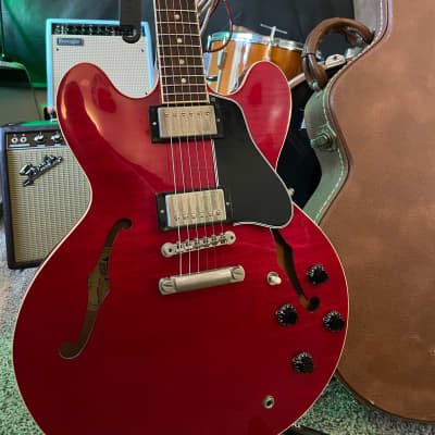 1999 Gibson ES-335 Figured / Flame Cherry Top