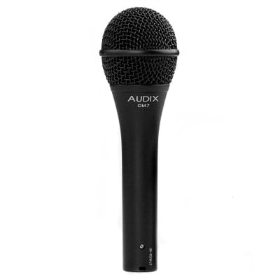 Audix OM7 Handheld Hypercardioid Dynamic Vocal Microphone