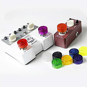 Mooer Candy Footswitch Topper Guitar Effects Pedal Footswitch toppers  10 pieces multi color mix