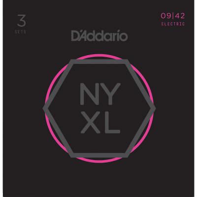Daddario 3 Pack NYXL Super Light 09-42