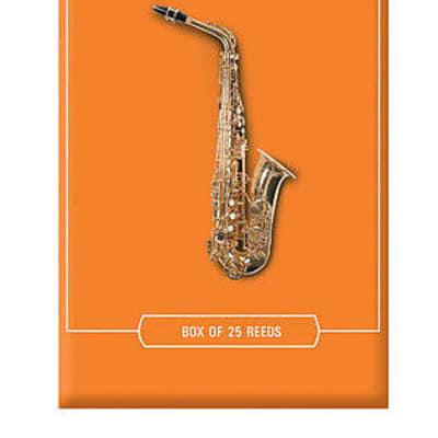 Rico rja2535 Alto Saxophone Reeds #3.5 (25-pack) orange box