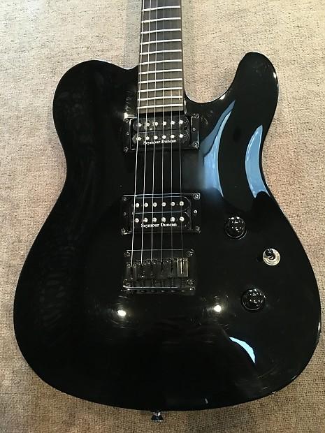 2004 Fender Special Edition Blackout Telecaster Hh Reverb